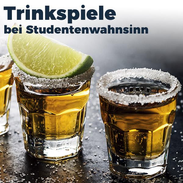Zu den Trinkspielen bei Studentenwahnsinn